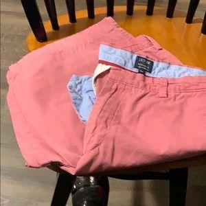 J Crew Rivington  shorts.
